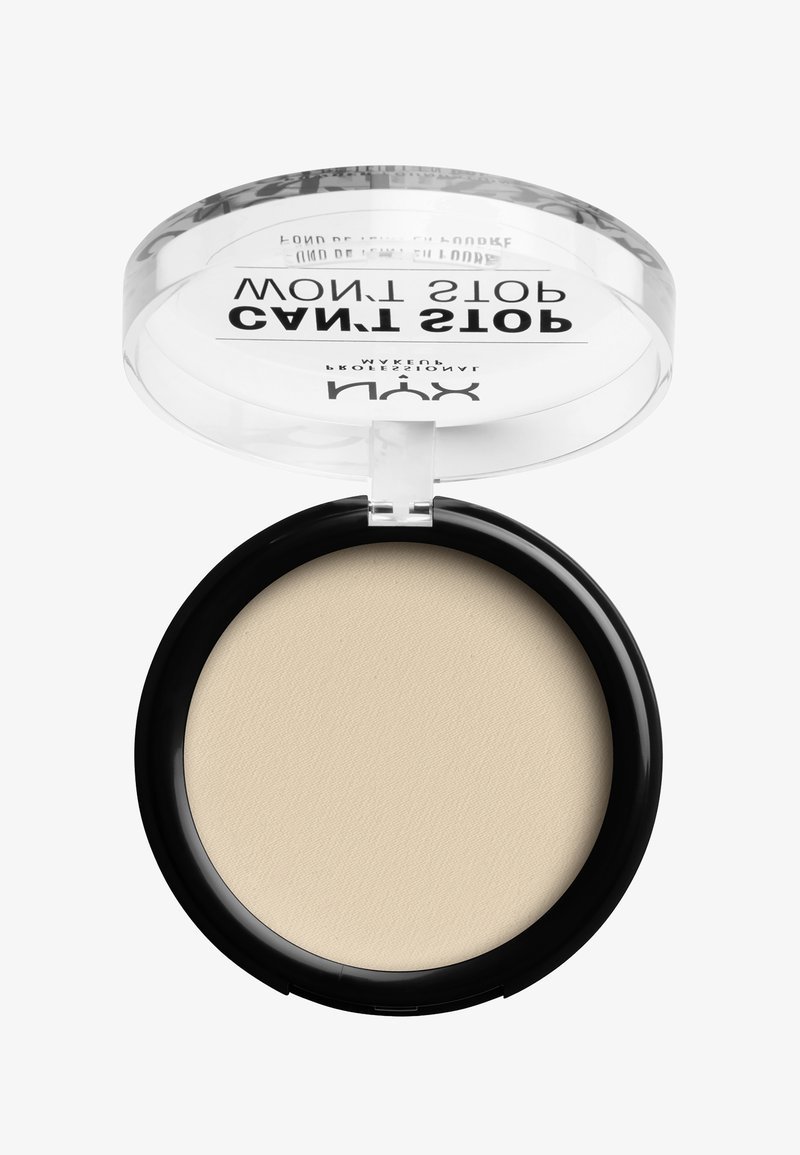 Nyx Professional Makeup - CAN'T STOP WON'T STOP POWDER FOUNDATION - Puder - CSWSPF04 light ivory