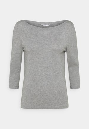 ONLAYA BOATNECK - Camiseta de manga larga - light grey