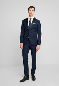 Pier One - Suit - dark blue - 0