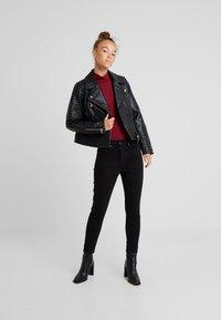 Topshop Petite - JAMIE CLEAN - Jeans Skinny Fit - black - 1