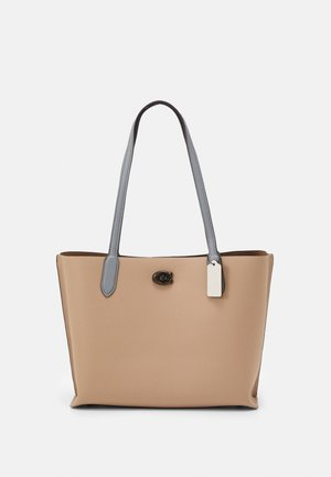 COLORBLOCK WILLOW TOTE - Handbag - taupe multi