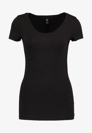 BASE - Basic T-shirt - black
