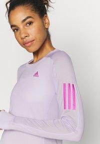 adidas Performance - SPORTS RUNNING LONG SLEEVE - Funkční triko - purple - 4
