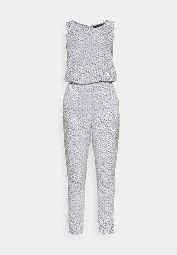 VMSIMPLY EASY  - Jumpsuit - white/dark blue