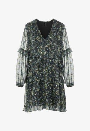 Day dress - black olive