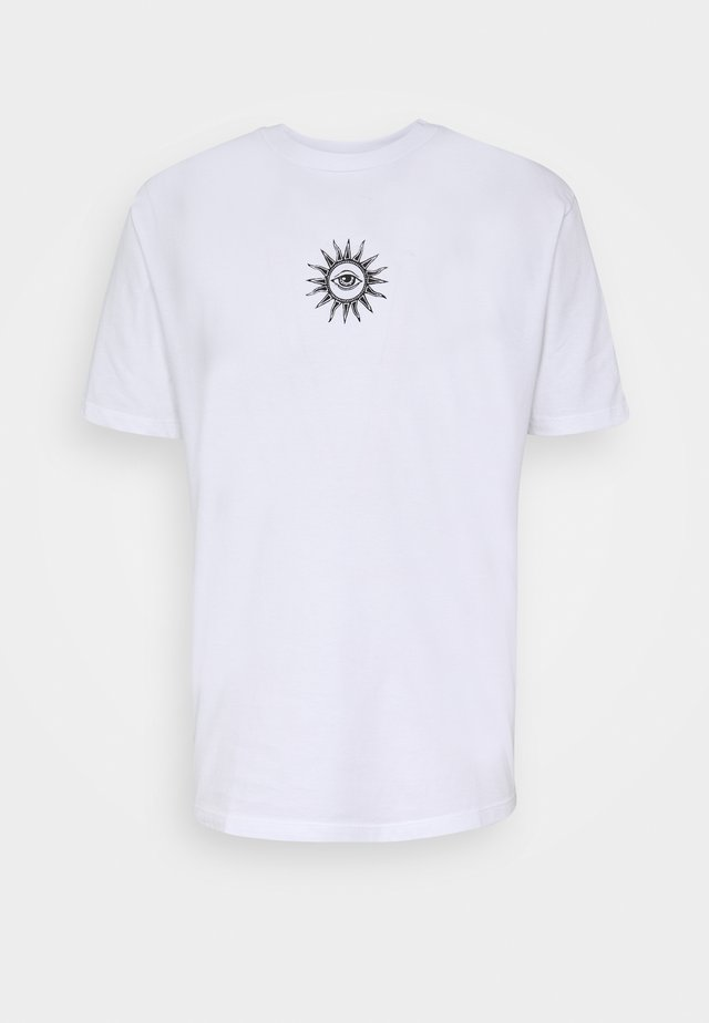 UNISEX NEW ORDER - T-shirts med print - white