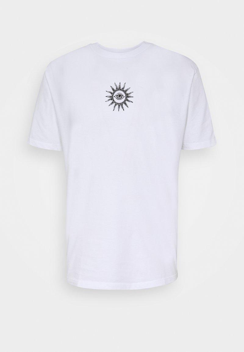 Kaotiko - UNISEX NEW ORDER - Print T-shirt - white