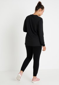 Active by Zizzi - ABASIC - Sports shirt - black - 2