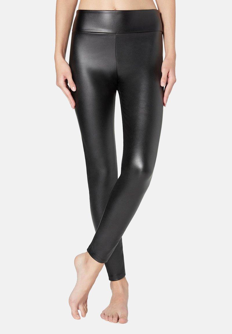 Calzedonia - Leggings - Stockings - nero