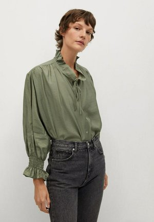 RUDOLPH - Button-down blouse - green