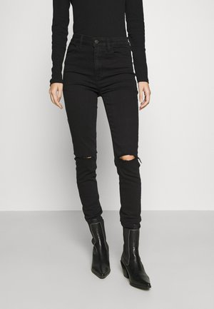 NEXT SUPER - Slim fit jeans - black slash