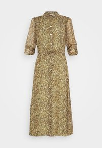 DRESS LONG SHELL - Shirt dress - multi-coloured