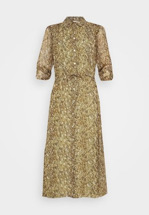 DRESS LONG SHELL - Skjortekjole - multi-coloured