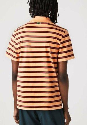 Polo shirt - hell orange/rot