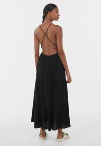 Bershka - Maxi dress - black - 1