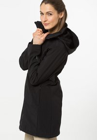 CMP - WOMAN ZIP HOOD - Soft shell jacket - nero - 4