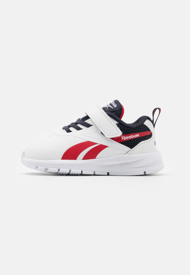 Reebok - RUSH RUNNER 3.0  - Zapatillas de running neutras - white/navy/red
