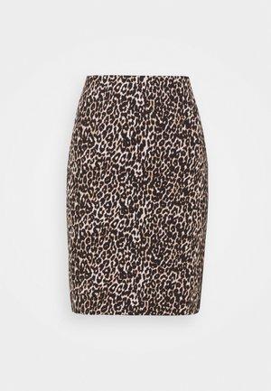 Mini skirt - warm sand