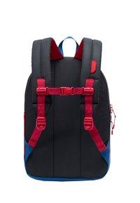 Herschel - School bag - black reflective/lapis blue reflective/red light - 1
