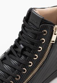ALDO - KECKER - Sneakersy wysokie - black - 5