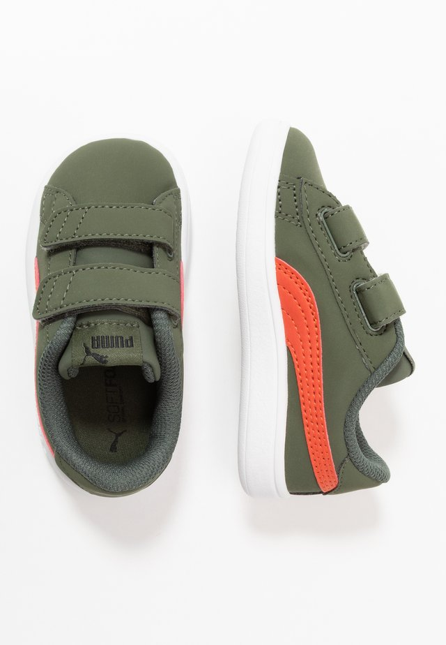 SMASH BUCK  - Sneakers laag - thyme/black