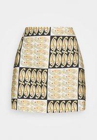 ARCHAIC SKIRT - A-line skirt - black/white/multi coloured