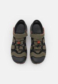 Teva - FLINTWOOD - Walking sandals - dark olive - 3