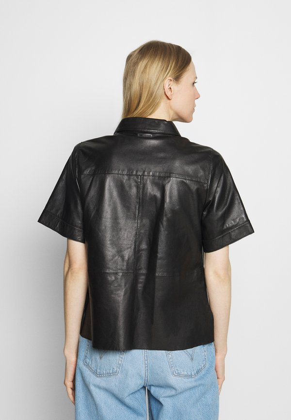 Oakwood TAYLOR - Koszula - black/czarny GDUW