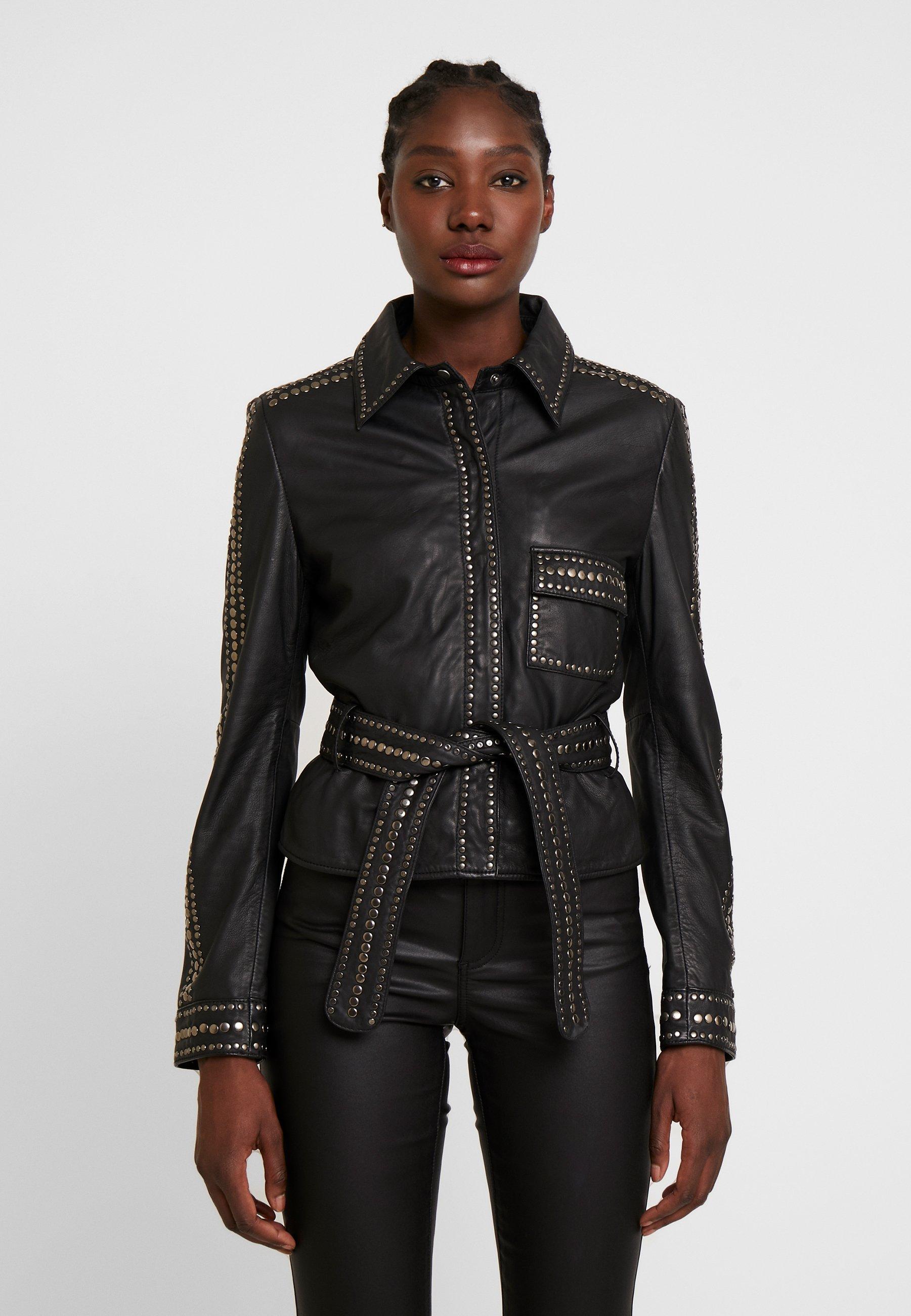 Women STEPHANIE - Leather jacket