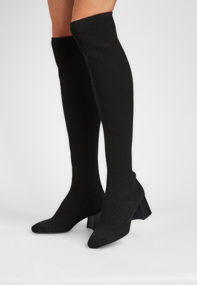 PORTIA - Over-the-knee boots - schwarz