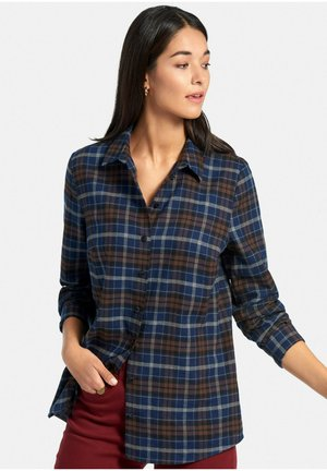 Button-down blouse - marine/multicolor