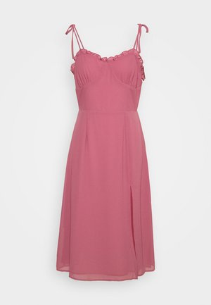 PALOMA MIDI DRESS - Day dress - rose
