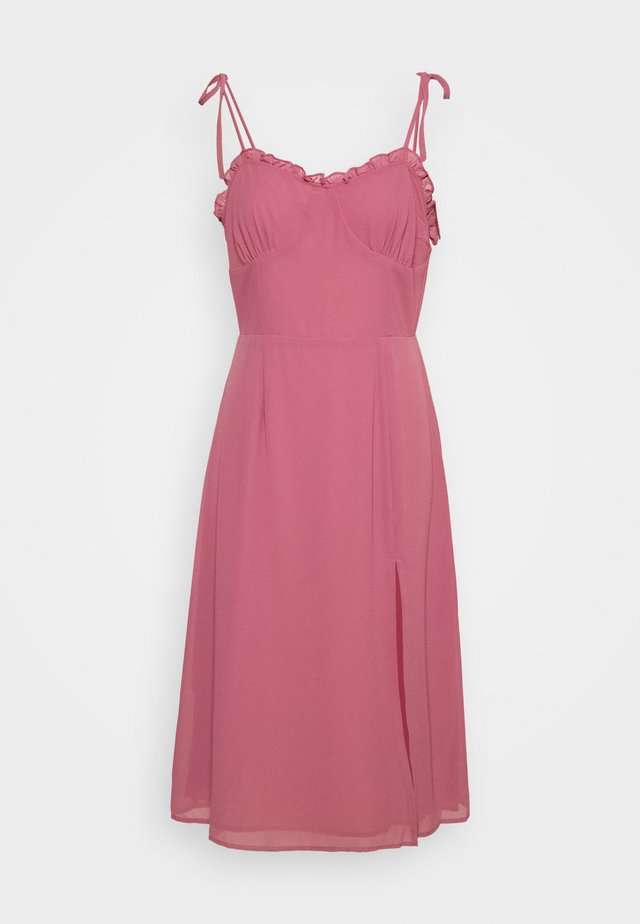 PALOMA MIDI DRESS - Sukienka letnia - rose