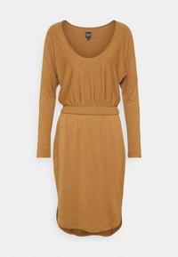 GAP - Strikket kjole - deep camel - 4
