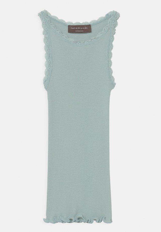 ORGANIC - Top - blue mint