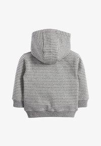 Next - DINO APPLIQU - Zip-up hoodie - grey - 1
