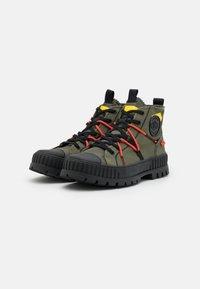 Palladium - PALLASHOCK RE-CRAFT UNISEX - Lace-up ankle boots - olive night - 1