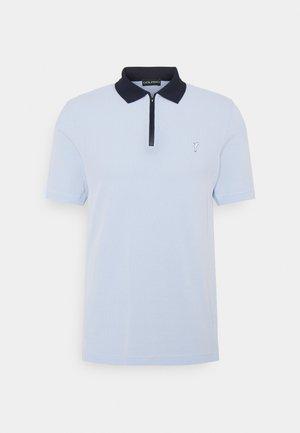 THE BIARRITZ ZIP - Poloshirt - pale blue