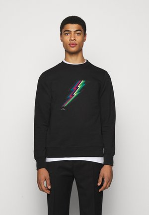 MENS REG FIT LIGHTNING UNISEX - Sweatshirt - black
