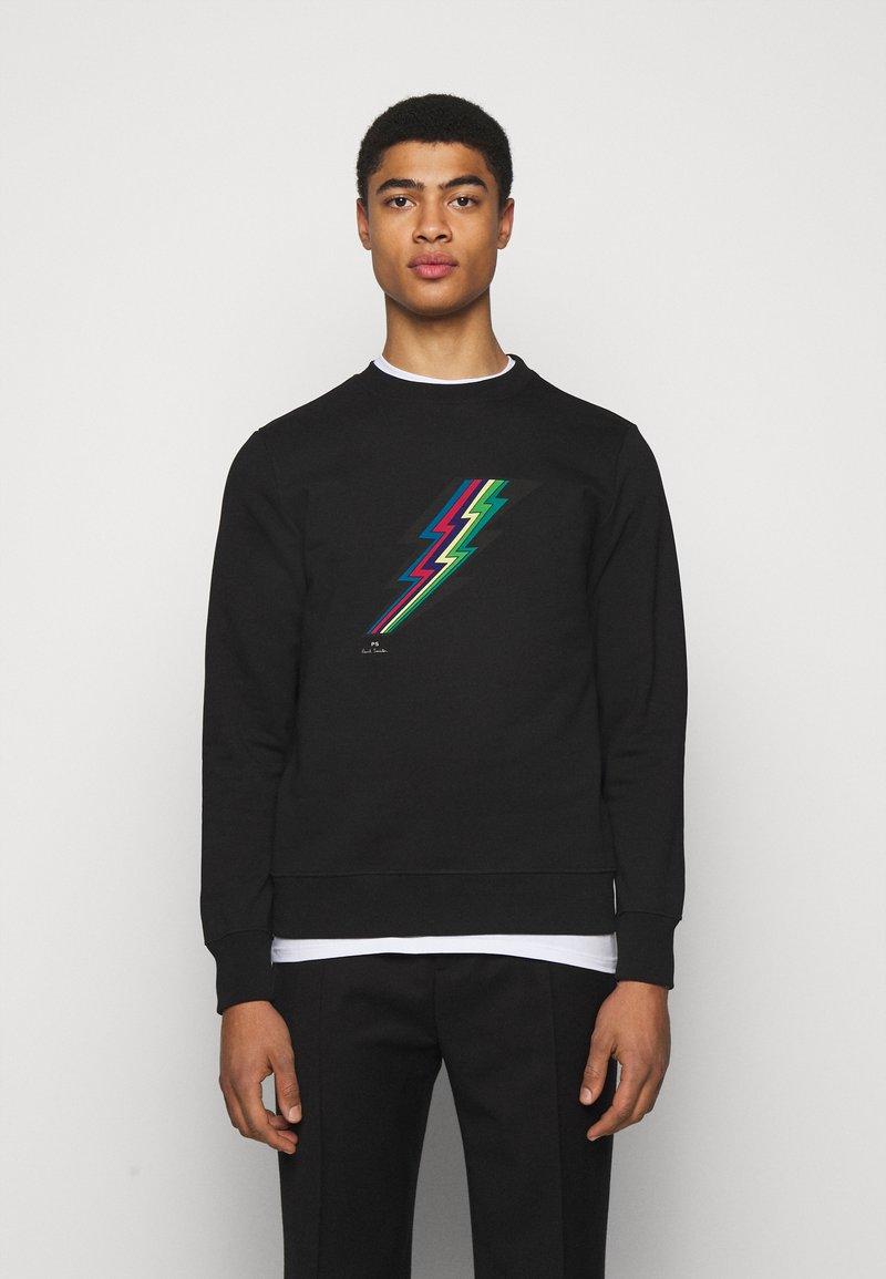 PS Paul Smith - MENS REG FIT LIGHTNING UNISEX - Sweatshirt - black