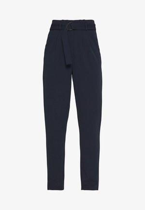 JDYTANJA CATIA RING PANT  - Trousers - navy blazer/black ring