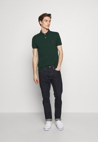 Polo Ralph Lauren - SHORT SLEEVE KNIT - Poloshirts - college green - 1