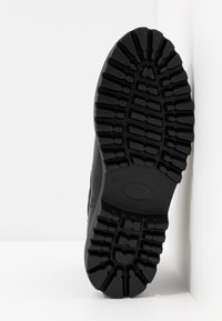 Even&Odd Wide Fit - WIDE FIT - Platform ankle boots - black - 6