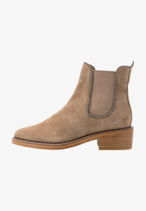 BOWERY BEADCHAIN BOOTIE - Classic ankle boots - oat