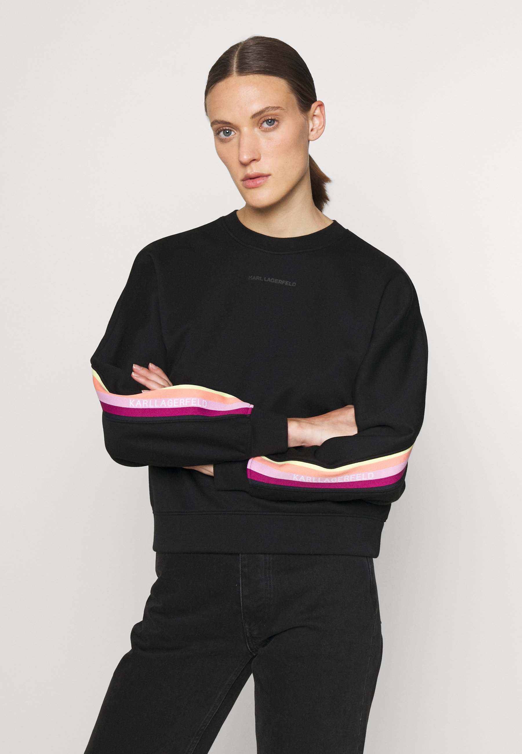 Women DOUBLE JERSEY TAPE SWEATSHIRT - Sweatshirt