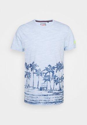 T-shirt med print - skylight