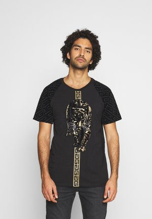 HATHIAT - T-shirt con stampa - black