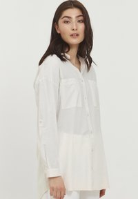 b.young - BYFIE STRIPE - Button-down blouse - oyster mix - 0