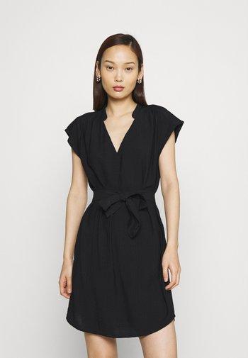 ONLJOSEY V NECK DRESS - Day dress - black