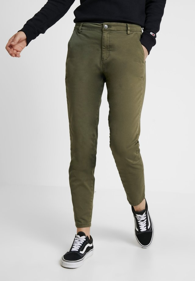 KARMEY - Trousers - olive